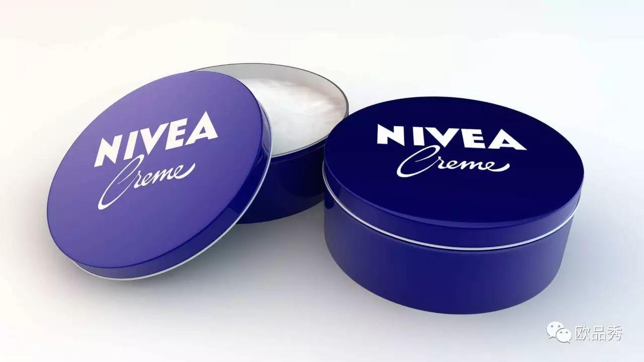 NIVEA铁罐